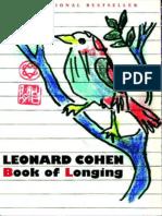 Book of Longing - Leonard Cohen