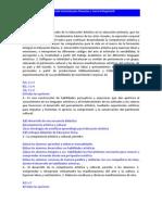 Cuestionario Carrera Programa de Estudios