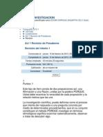 Retroalimentación actividades TECNICAS DE INVESTIGACION 2013 edgar