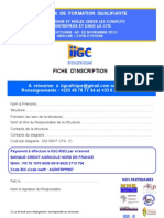Iigc Fiche d Inscription