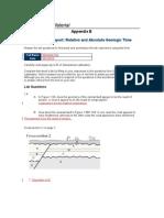 Glg101r2 Appendix e Lab Report