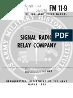 FM 11-9 - Signal Radio Relay Company (1966)