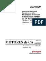 Instalacion y Mtto -Motores Std CA Por Reliance