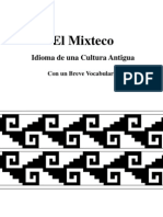 El Mixteco Idioma de Una Cultura Antigua