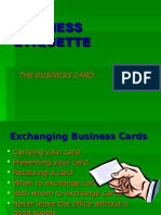 PPT Business Card