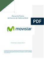 ManualPrecios PreciosActual Contrato