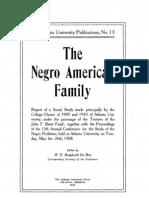 Dubois -The Negro American Family