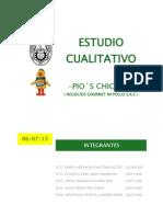 Estudio Cualitativo- Pios Chiken