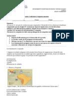 Prueba de Historia y Geografia Quinto Basico