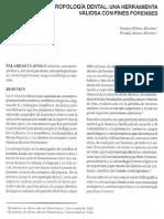 2002 - Moreno - Antropologia Dental Forence