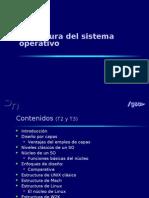 Estructura del SO