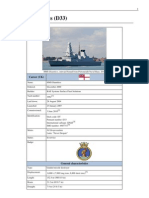 HMS Dauntless (D33)