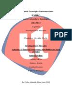 Informe Investigacion de Mercados Grupo 3 Terminado