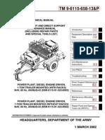 TM 9-6115-658-13P  P(OWER) P(LANT)  AN/MJQ-42