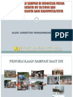 Pengelolaan Sampah Pasca UU 18-2008. Oleh Direktur PLP, CIpta Karya,