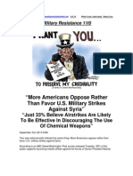 Military Resistance 11I5 by the Numbers