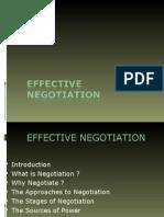 Copy of Effective Negotiation-o