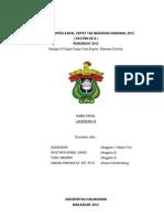 Proposal Kapal Cepat KAtegori III Fuel Engine
