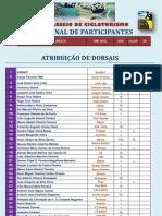 Lista Participantes DORSAL