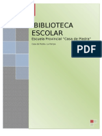 Biblioteca Escuela 12