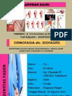 Odinofagia Etc Esofagitis Refluks