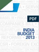 KPMG Budget 2013