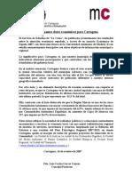 Datos Cartagena Anuario 2007 Caixa