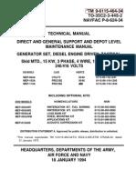 TM 9-6115-464-34  MEP-004A, -103A, -113A
