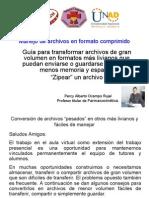Manejo de Archivos en Formato Comprimido