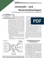 Funkgeschichte - Peilkommando- und Rückmeldeanlagen