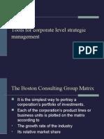 Startegic Management