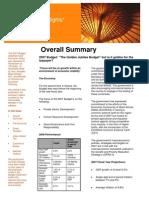 2007 Ghana Budget Highlights