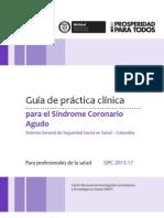 Guía de Práctica Clínica para el Síndrome Coronario Agudo