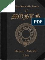 Scheibel, Johann - The Seventh Book of Moses