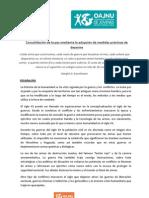 Consolidación de la paz mediante la adopción de medidas prácticas de desarme