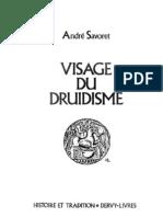 Visage du Druidisme-André Savoret