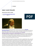 Jean- Louis Comolli__ Intervenciones Sobre Lo Visible