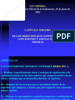 Derechos-legislacion Minera