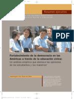 Fortalecimiento de La Democracia en a L a Traves de La Educ Civicaresumen_ejecutivo_final