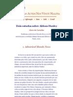 Dois estudos sobre Aldous Huxley - Olavo de Carvalho.pdf