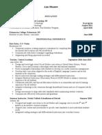 Blaauw Resume