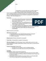 Monoprint Lesson Plan