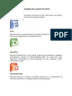 Programas Del Paquete de Office