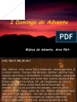 1º Domingo do Advento - Ano B