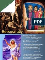 Domingo de Páscoa - Ressuscitou