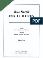 Bartok Forchildren