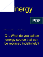 Energy Science Quiz
