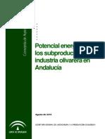 Potencial energético de los subproductos de la industria olivarera en Andalucía