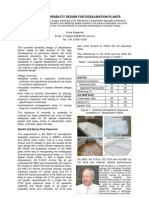 Water Journal Desalination Plants