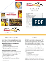 Event Handbook 2014